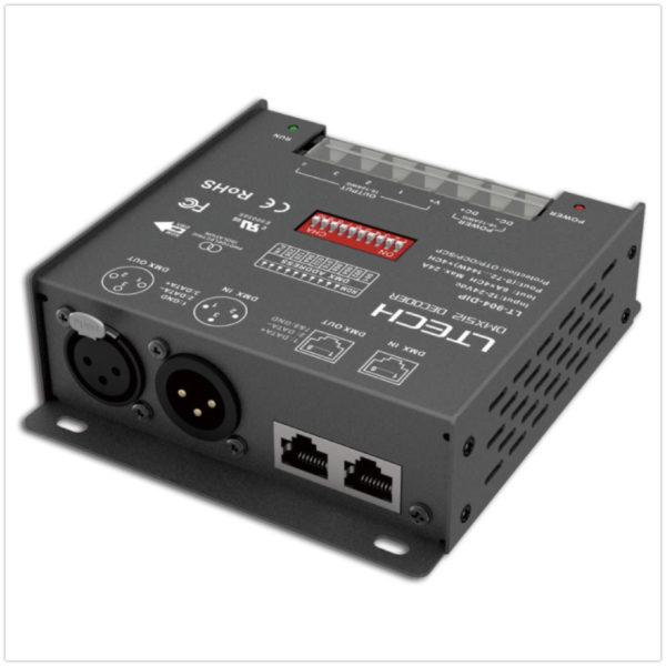 LTECH DMX/RDMデコーダー LT-904-DIP